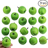 mini apples - Supla 30 Pcs Artificial Mini Apples in Green 1.4