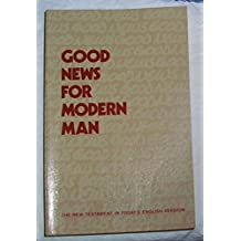 Good News for Modern Man: The New Testament in Today's English Version - Third Edition (LARGE PRINT)