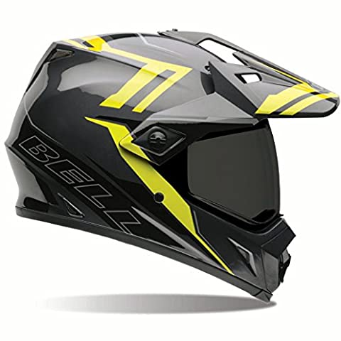 Bell MX-9 Adventure Barricade Hi-Vis Dual Sport Helmet - X-Large