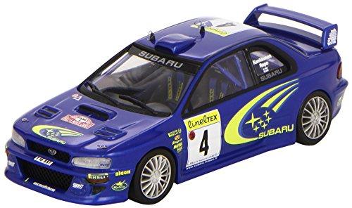1/43 スバル インプレッサ WRC 2000年モンテカルロラリー3位 ドライバー:J.Kankkunen/Repo 1126