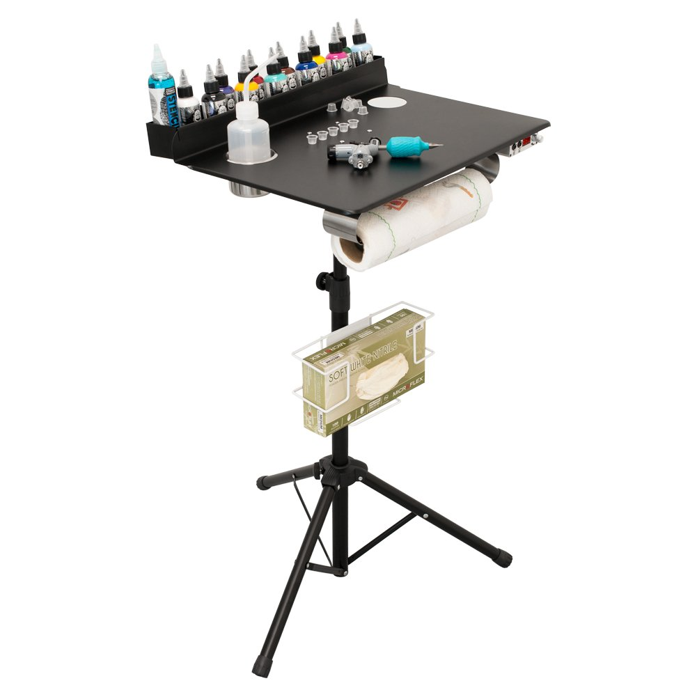 Amazon.com : Monster Steel Portable Tattoo Workstation - Convention ...