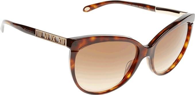 Tiffany & Co. TF4097, Gafas de Sol para Mujer, Marrón ...