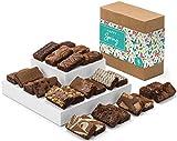 Fairytale Brownies Spring Sprite 24 Gourmet Chocolate Food Gift Basket - 3 Inch x 1.5 Inch Snack-Size Brownies - 24 Pieces - Item CR224SP