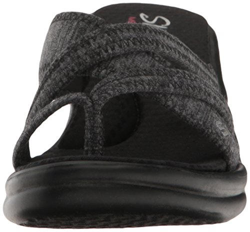 Rumblers Heart con Young Skechers Jersey Platea Sandali Black At Donna pdBxaZq