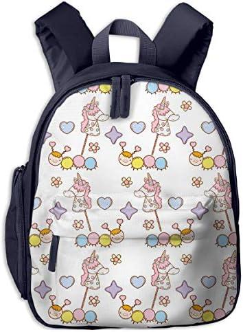 キッズ リュックサック バックパックユニコーン柄 おしゃれ子供用バッグ カバン 遠足 通学 旅行 幼稚園バッグ 男の子 女の子