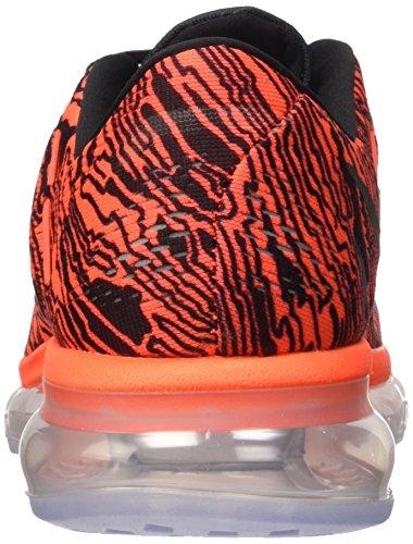 Crimson Scarpe black Print Uomo Max Multicolore da Nike Corsa 2016 Black Total Negro Air Naranja Multicolore HxO0wcqa