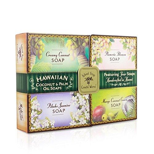 Soap Sample Pack - Four 2 oz. - Soap Bar Hawaiian