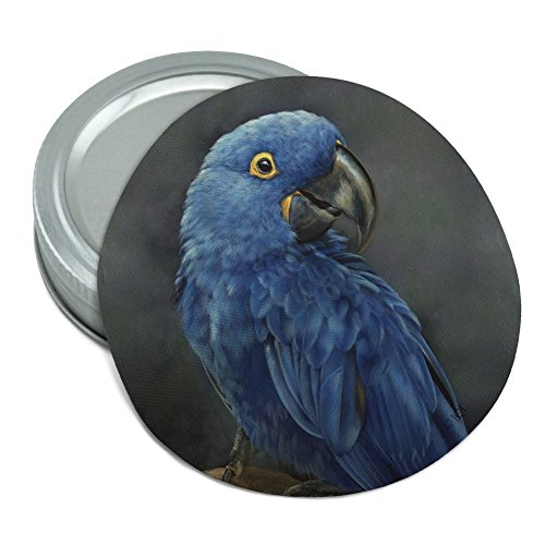 (Hyacinth Macaw Parrot Round Rubber Non-Slip Jar Gripper Lid Opener )