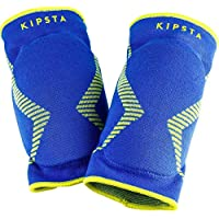 Kipsta Allsix V500 Volleyball Knee Pads - Blue Yellow