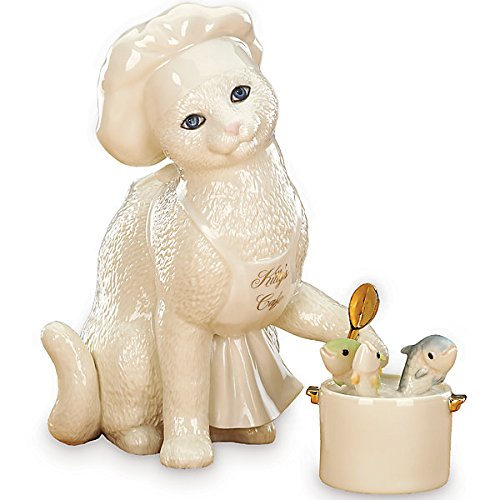(Lenox Kitty's Cafe 2 Pc Figurine Set )
