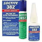 Loctite 20420 382 Tak Pak Instant Adhesive, 20 Gram Kit