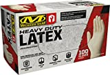 Mechanix Wear - Latex Disposable Gloves - Powder Free, Heavy Duty, Textured - 8 mil (X-Large, 100 Pack)
