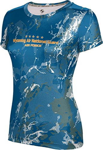 ProSphere Girls' Wyoming Air National Guard Military Marble Shirt (Apparel)