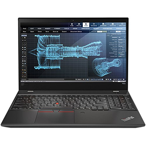 Lenovo ThinkPad P52s Mobile Workstation Ultrabook Laptop (Intel 8th Gen i7-8550U 4-core, 32GB RAM, 512GB SSD, 15.6