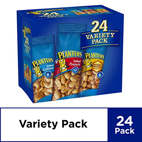 - Planters Nuts Variety Pack (1.75oz, Pack of 24)
