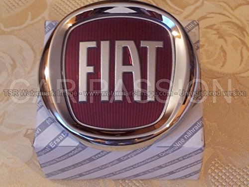 4 opinioni per fregio stemma logo FIAT ANTERIORE GRANDE PUNTO 500 PANDA IDEA ORIGINALE 95mm