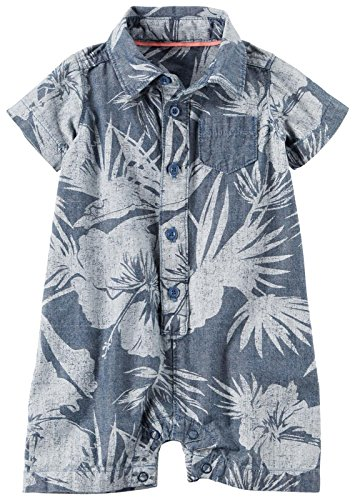 Carter's Baby Boys' 1 Pc 127g409, Denim, 24M