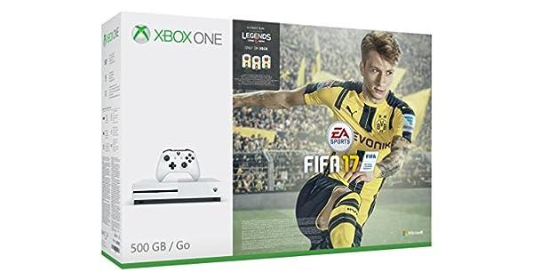 Xbox One S Fifa 17 Bundle (500 GB) [Importación Inglesa]: Amazon ...