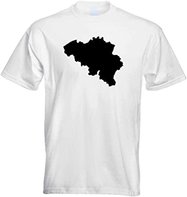 Îles Féroé Contour Contour T-shirt motif imprimé Funshirt Design Print