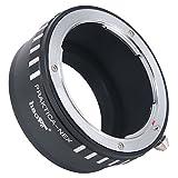 Haoge Manual Lens Mount Adapter for Praktica B PB mount Lens to Sony E mount NEX Camera as NEX-5, NEX-5N, NEX-7, NEX-7N, a6500, a6300, a6000, a5000, a3500, a3000, NEX-VG10, VG20