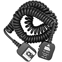 Pixel FC-312/3.6M Off-Camera Flashgun Cable For Nikon SB-910,SB-900,SB-800,SB-700,SB-600,D3X, D3, D700, D2, D300, D200,D90, D80, D7