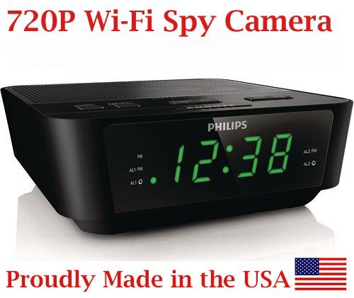 720p-HD-WIFI-Alarm-Clock-Radio-Spy-Camera-Wireless-IP-P2P-Covert-Hidden-Nanny-Camera-Spy-Gadget