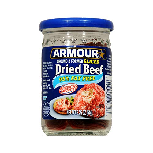 - Armour Ground & Formed Sliced Dried Beef 2.25 oz (Pack of 3)