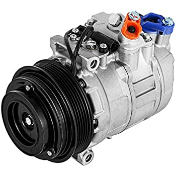 Happybuy CO 105111C (0002302011) Universal Air Conditioner AC Compressor for 96-08 Mercedes C CL CLK E ML S SL 7SBU16C A/C Compressor 77356 78356 5097010AA ...