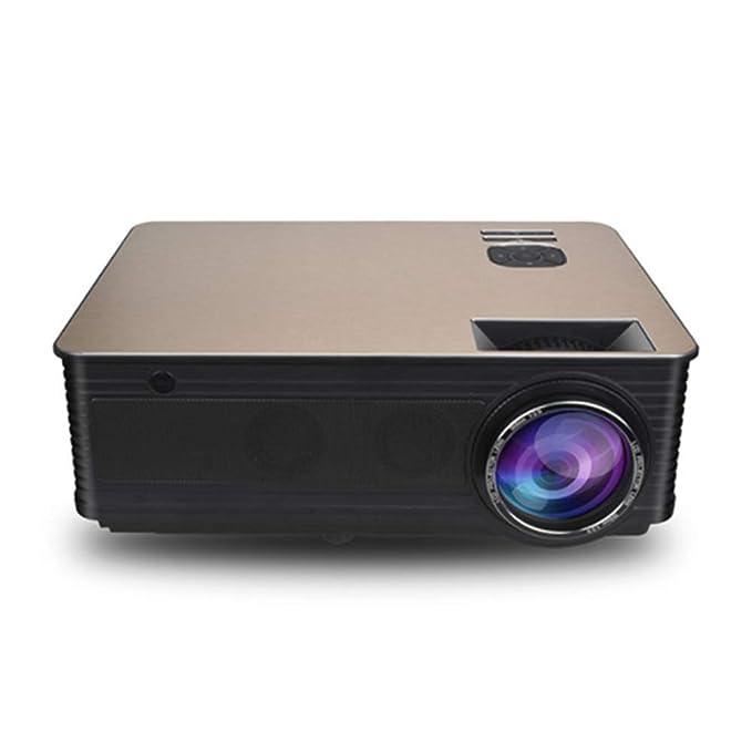Mini Proyector Portátil Inalámbrico 1080p Full HD para Películas ...