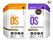 KETO//OS Orange Dream and Chocolate Swirl CHARGED, BHB Salts Ketogenic Supplement - Beta Hydroxybutyrates Exogenous Ketones for Fat Loss, Workout Energy Boost and Weight Management, 5 Sachet Each