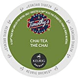 Timothy's World Tea, Chai Tea, 24-Count K-Cups For Keurig Brewers (Pack of 2)