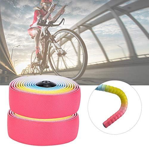 ソフトハンドルバーベルト、ロードバイクハンドルバーベルト高弾性ソフト汗吸収ステアリングテープバイクステアリングテープバイクハンドルバーアクセサリー