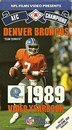 - Denver Broncos: 1989 Video Yearbook - AFC Champions - Includes Super Bowl 24 Highlights [VHS]