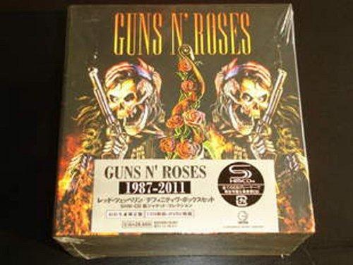 JAPAN EDITION GUNS N' ROSES 1987-2011 9CDS + 2 BONUS DVDs