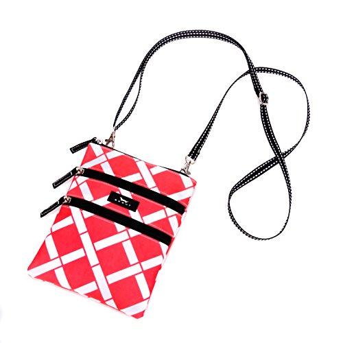 SCOUT Sally Go Lightly Multi-Pocket Lightweight Crossbody Bag, Adjustable Strap, Water Resistant, Zips Closed, Wham Bam (Bags Bam Handbag)