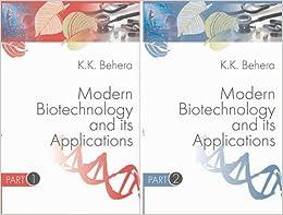 Modern Biotechnology And Its Applications (set Of 2vols.) Set Price por K.k. Behera