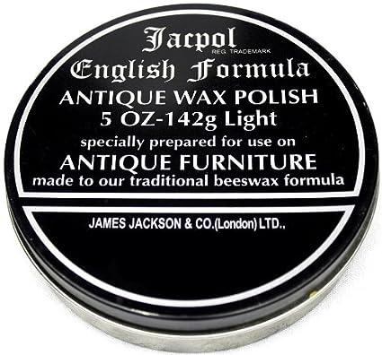 Jacpol Beeswax English Formula Antique Furniture Wax Polish 142g (light -  120g) - Amazon.com : Jacpol Beeswax English Formula Antique Furniture Wax