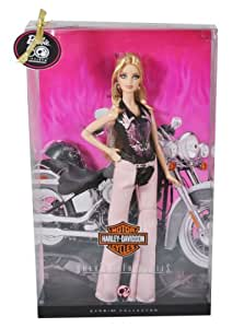 Barbie Collector Harley Davidson Doll