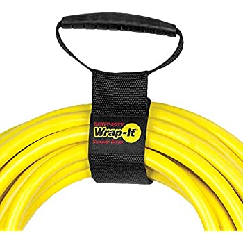 Camco 55001 Durable Storage Strap with Carrying Handle for Electrical Cords Extension Cords and More For Toting and  Storing Neatly Organizes Wires