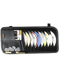 Custom Accessories 31501 10-Pocket CD Visor Organizer