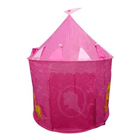 Jili Online Portable Folding Pop Up Playhouse Tent for Kids Girl Princess Sweet Castle Play Tent  sc 1 st  Amazon.com & Amazon.com: Jili Online Portable Folding Pop Up Playhouse Tent for ...