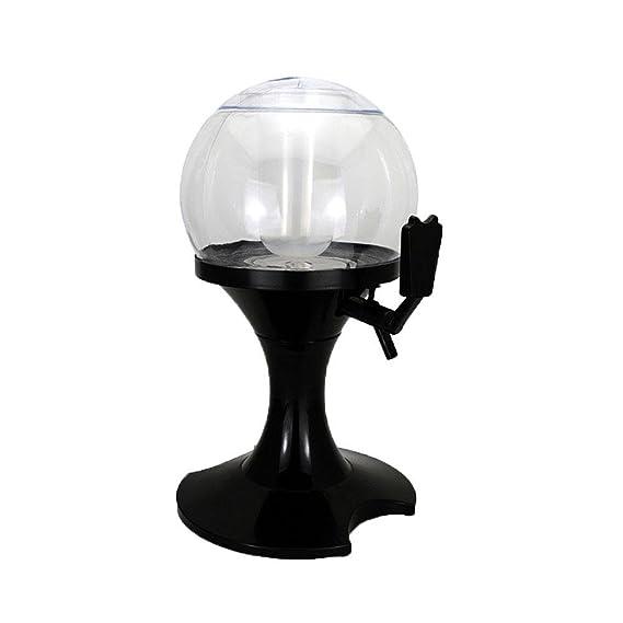 Dispensador de bebidas de hielo, Umiwe 3,5 L Bola Fría Borrador de Bebidas Bebidas Bebidas Torre Dispensador con núcleo de hielo para el hogar fiesta Bar ...
