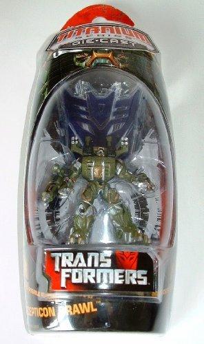 Titanium Transformers die-cast Series Decepticon Brawl