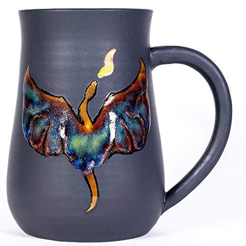 - Dragon Handmade Coffee Pottery Mug
