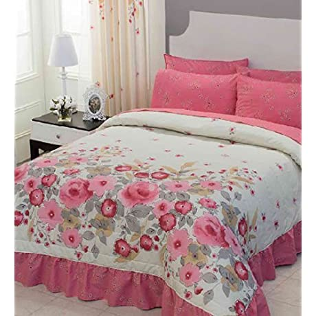 Rosas Bedspread Collection Bedspread Sheet Set And Window Panels Full Queen