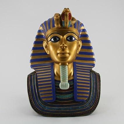 Rico decorativo Escultura Faraón egipcio Tutankamón