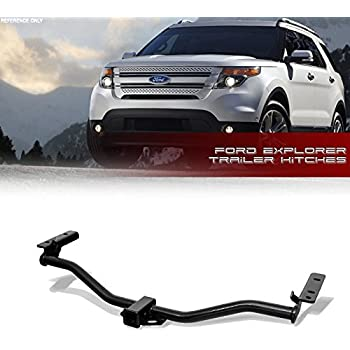 Vxmotor For 11 17 Ford Explorer Base Xlt Limited Sport Platinum Class 3 Iii Trailer Towing Hitch Mount Receiver Rear Bumper Utility Tow Kit 2
