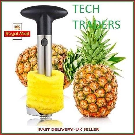 Cortador de piña de Tech Traders, acero inoxidable
