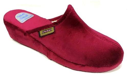 700 Blu Scarpe Scarpe e borse tiglio Pantofole Ciabatte Invernali da Donna Art