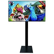 DURAMEX (TM) LCD LED PLASMA TV SMALL TILT Floor MOUNT, Floor Stand, Mobile Stand, Mobile Mount, SCREEN BRACKET,TILT 15, 32 40 42 46 50 55 60 65 70 75 RCA HISENSE LG SAMSUNG